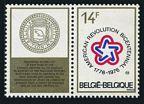 Belgium 942 label