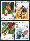 Belgium B1009-B1012, B1013 ad sheet