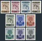 Bolivia 418-422, C212-C216