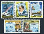 Bolivia 604-608