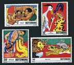 Botswana 253-256 mnh-perf