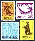 Brazil 1362-1365