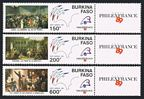 Burkina Faso C313-C315-label