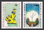 Cameroun 831-832