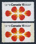 Canada 541, 541a tagged