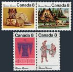 Canada 566-569a pairs
