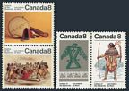 Canada 574-577a pairs
