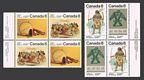 Canada 574-577a blocks