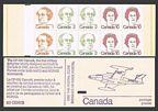 Canada 586c booklet
