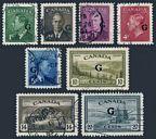 Canada O16-O23 used