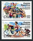Chile 964-965a pair
