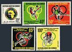 Congo PR 129-133, 133a sheet