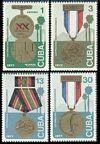 Cuba 2150-2151, C255-C256
