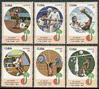 Cuba 2526-2531, 2534
