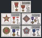 Czechoslovakia 2642-2646