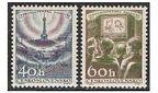Czechoslovakia 825-826