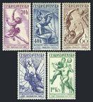 Czechoslovakia 839-843