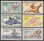 Czechoslovakia 897-902 mlh