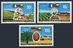 Dahomey  262-263, C105, C105a sheet
