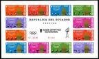 Ecuador 738-743, C435-C440, C440a sheet