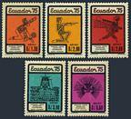 Ecuador C554-C558