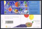 Finland 1124 af/4 labels booklet