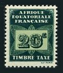 French Equatorial Africa J3