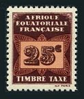 French Equatorial Africa J4