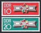 Germany-GDR 1241-1242