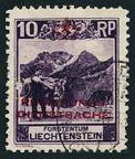 Liechtenstein O2 used