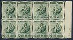 Mexico Postal Savings Mi P4 WMK 279 block/8