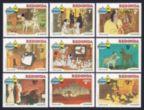 Antigua-Redonda 1982 Christmas set of 9