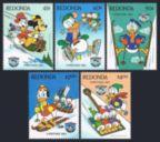 Antigua-Redonda 1984 Christmas set of 5