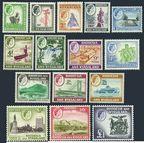 Rhodesia & Nyasaland 158-171